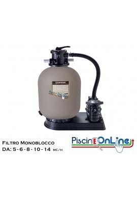 MONOBLOCCO HAYWARD DA 5 A 14 METRI CUBI/H - FILTRI PER PISCINE OFFERTE ONLINE