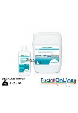 DECALCIT SUPER DA 1, 3, 10 LT by BAYROL - GEL DETERGENTE ANTICALCARE PER ELIMINARE I DEPOSITI PIU' OSTINATI