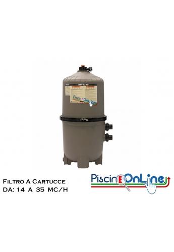 FILTRO SWIM CLEAR HAYWARD - MODELLI CON PORTATA DA 14 A 35 MC/H