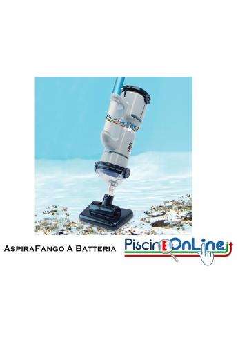 ASPIRAFANGO DOGFISH - FX4- ASPIRATORE ELETTRICO A BATTERIA IDEALE PER PISCINE DI MEDIE DIMENSIONI