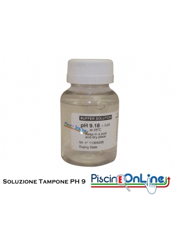SOLUZIONE TAMPONE PER LA CALIBRAZIONE PH9 - FLACONE DA 90 CC