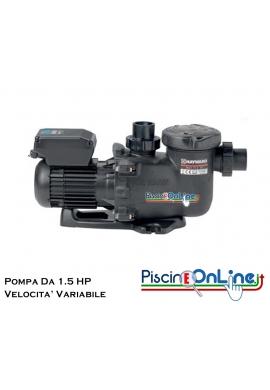 POMPA MAX FLO XL VSTD A VELOCITA' VARIABILE DA 1.5 HP CON TIMER DIGITALE