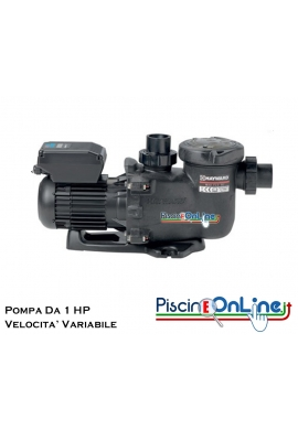 POMPA MAX FLO XL VSTD A VELOCITA' VARIABILE DA 1 HP CON TIMER DIGITALE