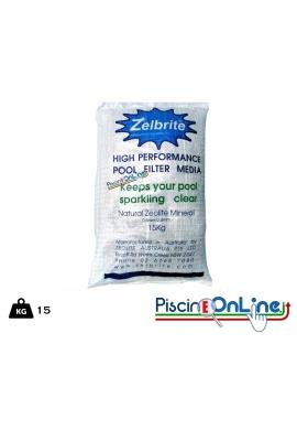 Zelbrite filtrante - Materiale filtrante per Piscina