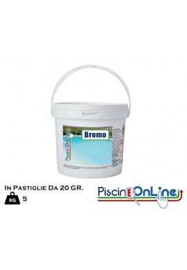 BROMO CLORO IN PASTIGLIE 20 GR - SECCHIO DA 5 KG