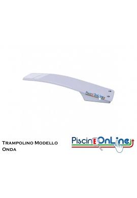 TRAMPOLINO MODELLO ONDA COMPLETO DI ANCORAGGIO