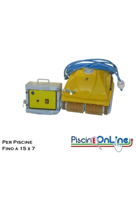 PULITORE PER PISCINE PRIVATE FINO A  15x7 MT