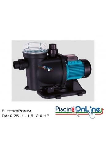 ELETTROPOMPE per piscina da 0.75 a 2 HP - prestazioni eccellenti - bassa rumorosità - manutenzione facilitata