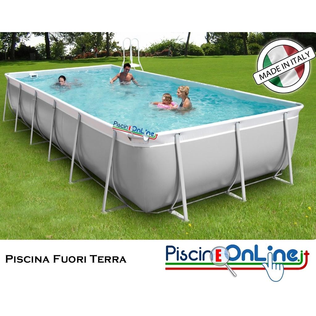 Piscina fuori terra in gomma tessuto poliestere - Misure piscine fuori terra ...
