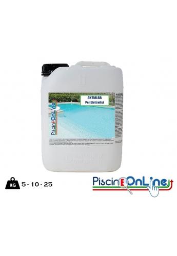 Alghicida per piscina con Sale - Elettrolisi - Sterilizzatori al Sale