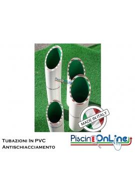 Tubazioni ANTISCHIACCIAMENTO  in PVC per impianti di circolazione piscine e vasche idromassaggio