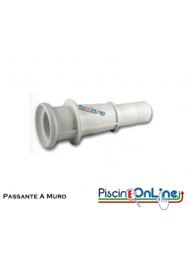 """PASSANTE A MURO ABS PER BOCCHETTA 2""""1/2F - 1""""1/2F 300mm"""