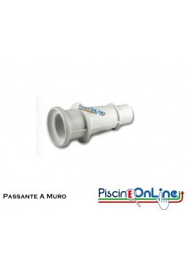 """PASSANTE A MURO ABS PER BOCCHETTA 2""""1/2F - 1""""1/2F  250mm"""