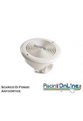 Scarico Di Fondo - Presa Di Fondo Con Griglia Antivortice In ABS h 150mm.