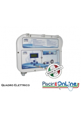 QUADRO ELETTRICO PER PISCINE PRIVATE A SKIMMER O BORDO SFIORO