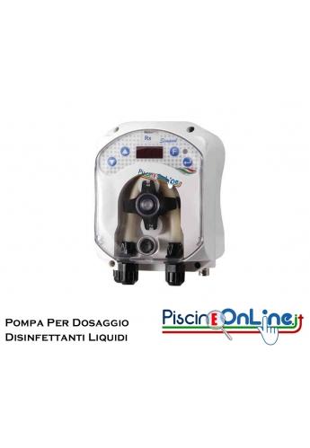 Pompa peristaltica dosaggio cloro o disinfettanti Liquidi