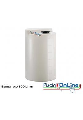 Serbatoio  in polietilene 100 lt  - diametro 500 altezza 680