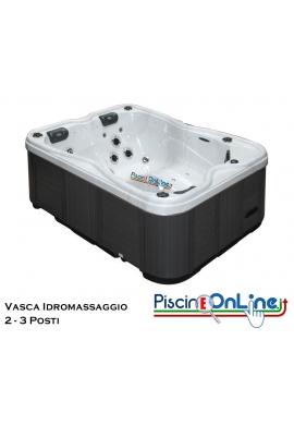 VASCA IDROMASSAGGIO - NEW RE - IDEALE PER 2/3 PERSONE E PER L'IDROMASSAGGIO DI COPPIA