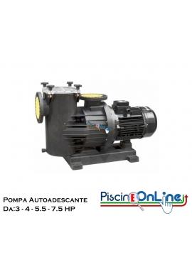 Pompa centrifuga autoadescante per grandi impianti da 3.0 hp a 7.5 hp