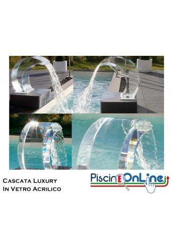 Cascata LUXURY in VETRO ACRILICO