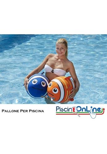 Pallone per Piscina a forma di pesce Nemo - colori assortiti