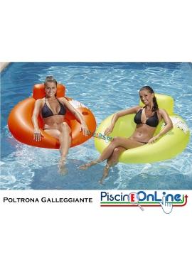 POLTRONA GALLEGGIANTE CON PORTA BICCHIERE - PORTA BEVANDE