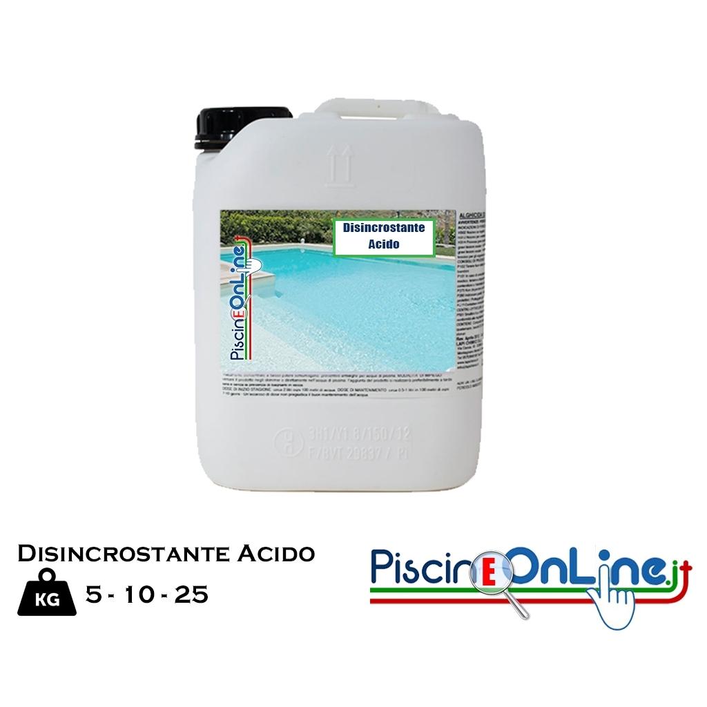 Disincrostante Plus Acido Specifico Per I Residui Di Calcare