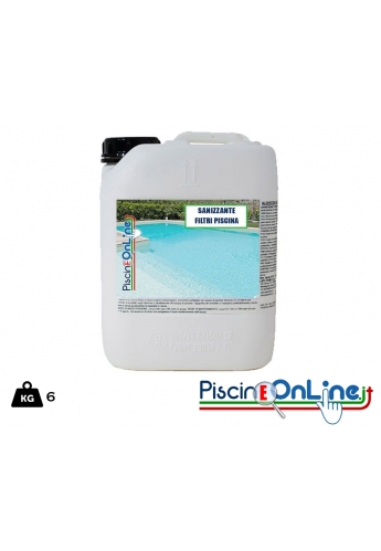 Prodotto per la Pulizia dei filtri a sabbia - 6lt