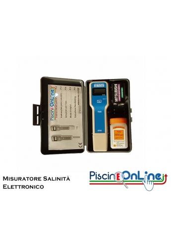 Misuratore Elettronico Salinità - tester controllo salinità per piscina con elettrolisi