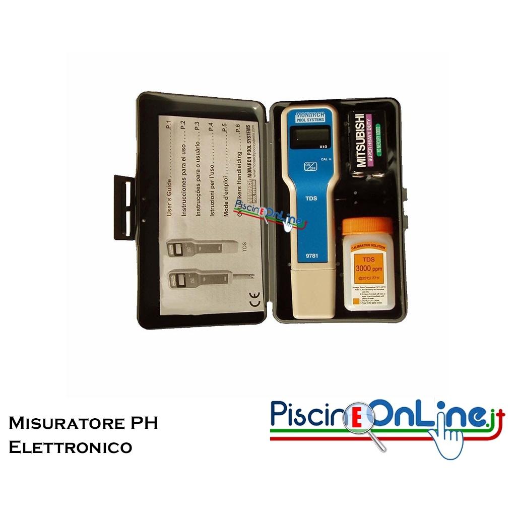 Misuratore elettronico ph tester controllo ph per piscina - Misuratore ph piscina ...