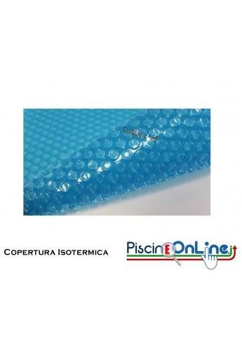 Copertura Isotermica per Piscina 8 X 4 in Polietilene con Bolle