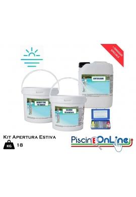 18kg KIT prodotti chimici apertura ESTIVA per piscina Online