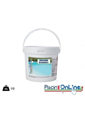 Tricloro 90 percento fusto da 10 kg - granulare - spedizione omaggio prodotti per piscina online