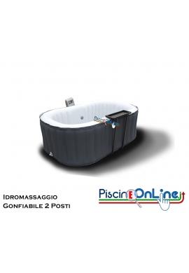 ROMANTIC SPA - VASCA IDROMASSAGGIO GONFIABILE DA INTERNO/ESTERNO - 2 POSTI