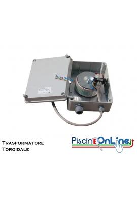 TRASFORMATORE TOROIDALE PRO 300-600-900 W PROTETTO IN CUSTODIA PVC