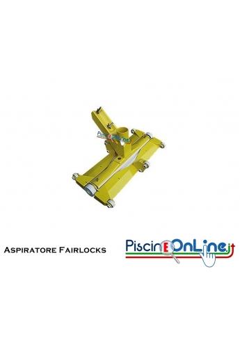 Aspiratore Fairlocks in PVC rigido con ruote e snodi 48 x 22 cm