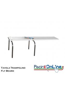 TAVOLA TRAMPOLINO - FLY BOARD - IN VETRORESINA CON DIVERSE MISURE - ANCORAGGIO INCLUSO
