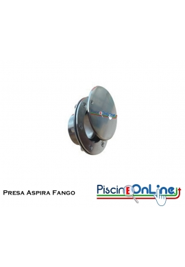 PRESA SCOPA IN ACCIAIO INOX AISI 316 PER MOSAICO/VERNICE o LINER/PVC