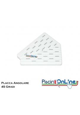 PLACCA ANGOLO 45 GRADI SPESSORE 22mm - DISPONIBILE IN TRE MISURE - 20-25-30 CM