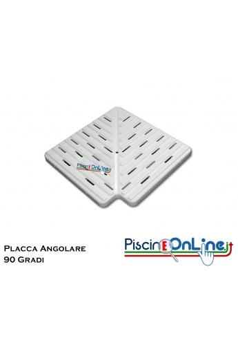 Placca angolo 90 gradi spessore mm 22 disponibile in tre misure cm 20-25-30