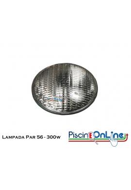 LAMPADA DA RICAMBIO PER FARO 300 W 12V LUCE PAR-56 - OFFERTE ACCESSORI PISCINA ONLINE ILLUMINAZIONE