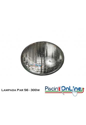 Lampada da ricambio per faro 300 W 12 V luce PAR-56 - offerte accessori piscina online illuminazione