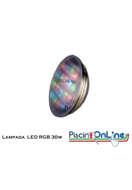 LAMPADA LED COLORLOGIC RGB DA 30W 12V PAR 56 PER FARI DA 300 W