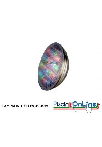Lampada LED colorlogic RGB da 30 W 012 V PAR 56 per fari da 300 W