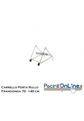 CARRELLO PORTA RULLO PER CORSIA FRANGIONDA ( LARGHEZZA 70-140 CM )