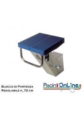 BLOCCO PARTENZA REGOLABILE H 72 CM