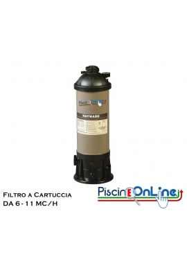 FILTRO A CARTUCCIA HAYWARD STAR CLEAR DA 6 E 11 MC /H