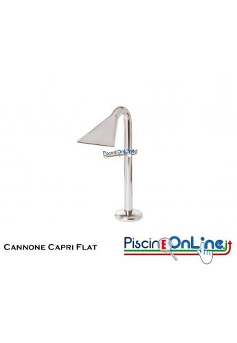 Cannone Capri JET/FLA in Acciaio Inox AISI 316 lucido