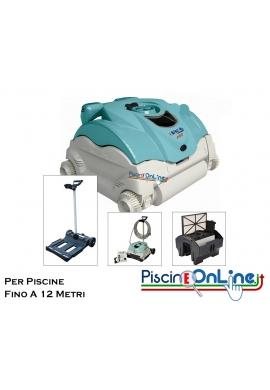 PER PISCINE FINO A 6 X 12 MT - PULITORE HAYWARD EVAC PRO CON CARRELLO - LUNGHEZZA CAVO MT 17 - PULIZIA FONDO E PARETI