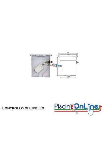 Controllo di livello in ABS con galleggiante regolabile HAYWARD